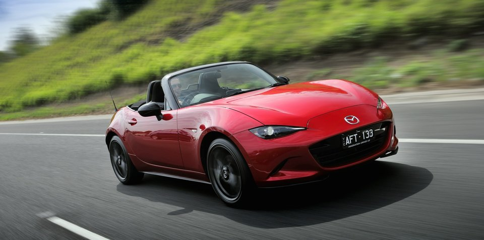 Mazda MX-5 breaking sales record, luring younger buyers