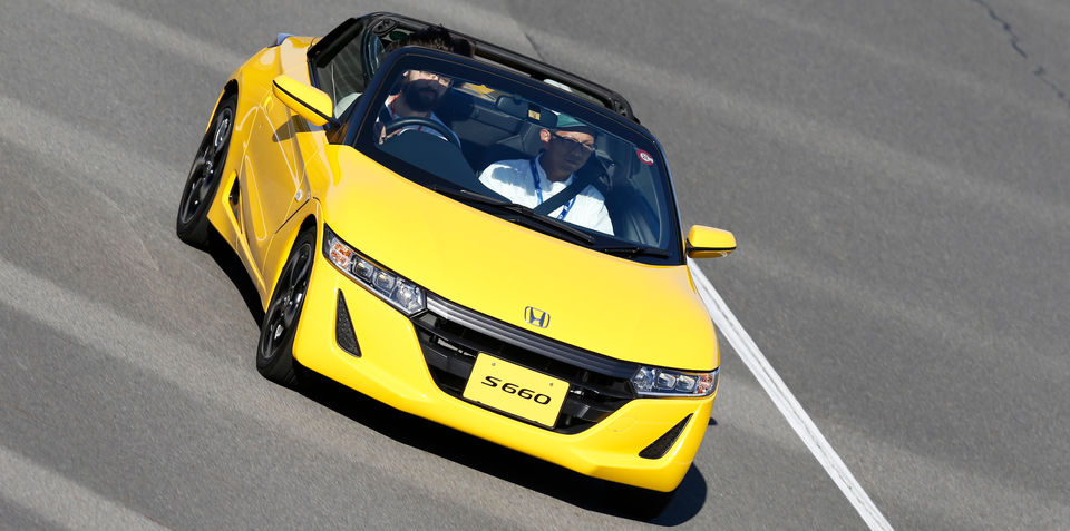 Honda S660 Review : Quick drive