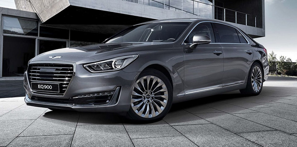 Genesis G90 revealed in Korea: Hyundai unveils new flagship sedan