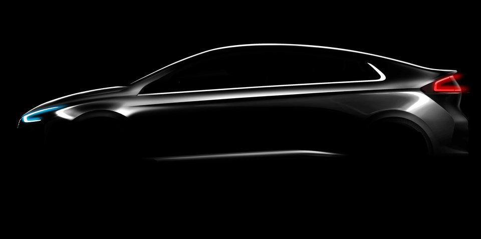 Hyundai Ioniq teased, Australian launch confirmed for second-half 2016