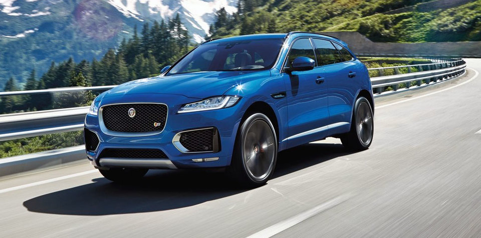 Jaguar F-Pace Australian demand running hot