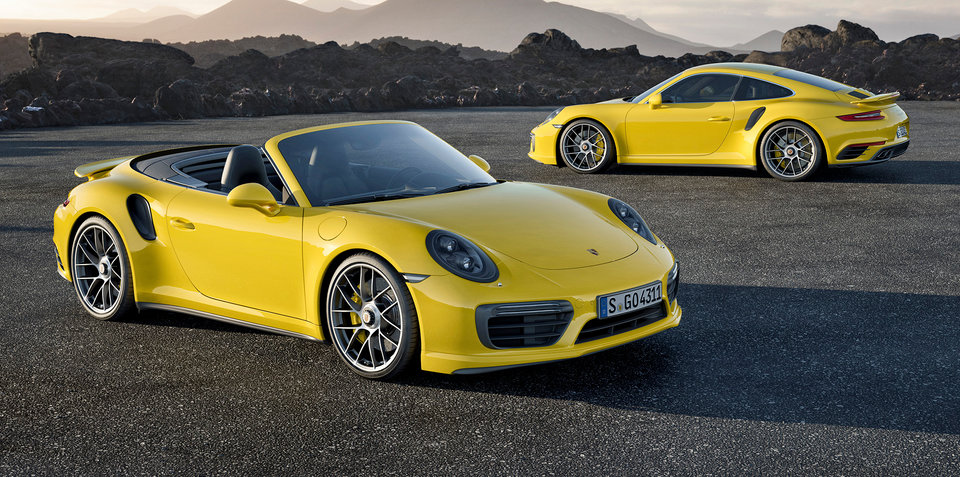 2016 Porsche 911 Turbo and Turbo S revealed: Australian launch in May 2016, Turbo S does 0-100km/h in 2.9s