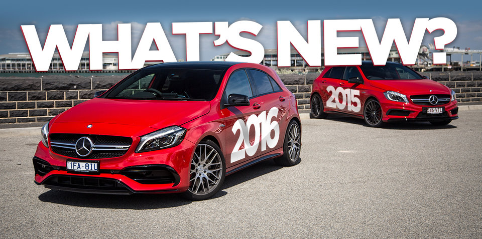 2016 Mercedes-AMG A45 v 2015 Mercedes-Benz A45 AMG:: What has changed?