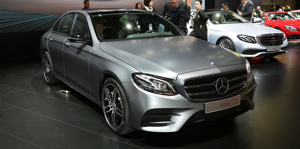 2016 Mercedes-Benz E-Class revealed: Australian debut set for June