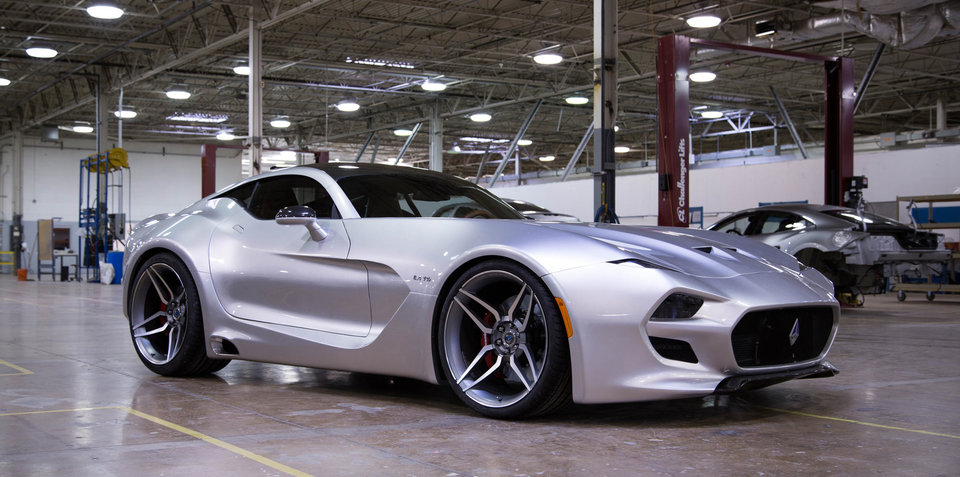 VLF Automotive Force 1:: Dodge Viper-based V10 muscle car revealed in Detroit