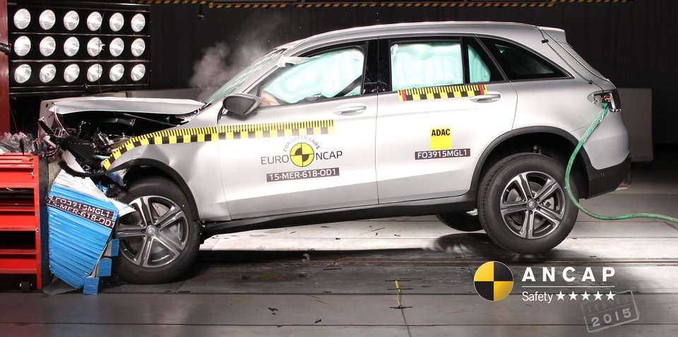 ANCAP concerned about pedestrian deaths: Commends Mercedes-Benz GLC and Jaguar XE for five star ratings