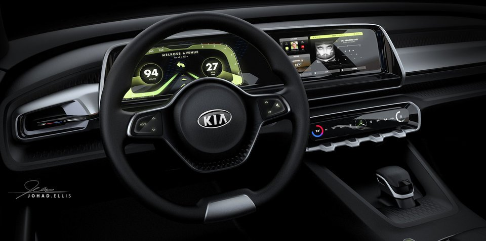 Kia Telluride concept's interior revealed ahead of Detroit debut