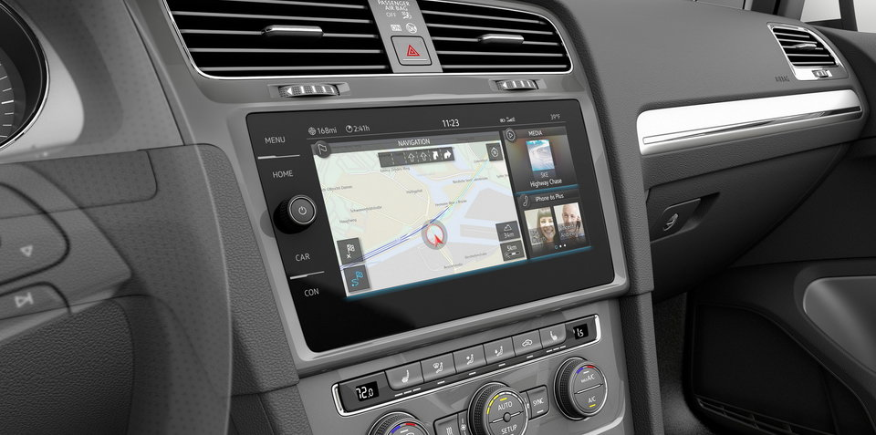 Volkswagen E-Golf Touch:: next-gen infotainment previewed at CES