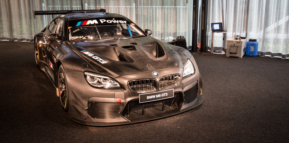 Beautiful 2016 BMW M6 GT3 Twinturbo Racer Unveiled In Melbourne
