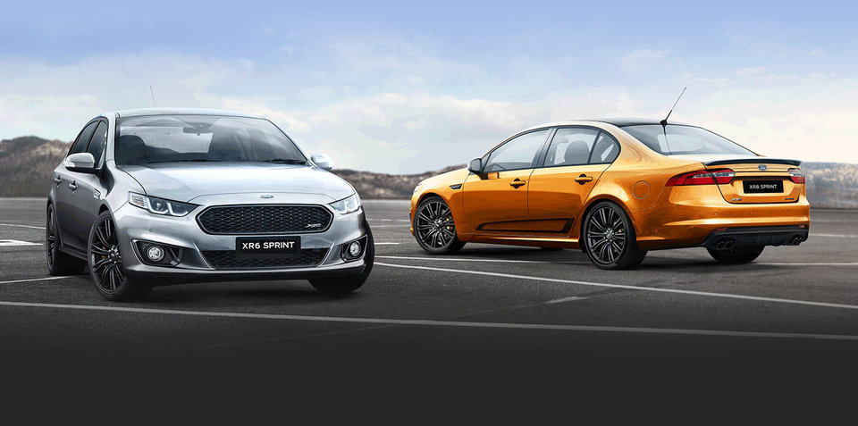 ford falcon xr sprint specifications released 265mm. Black Bedroom Furniture Sets. Home Design Ideas
