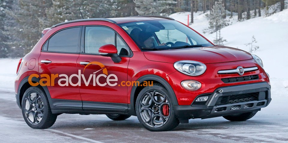 2017 fiat 500x abarth spied testing. Black Bedroom Furniture Sets. Home Design Ideas
