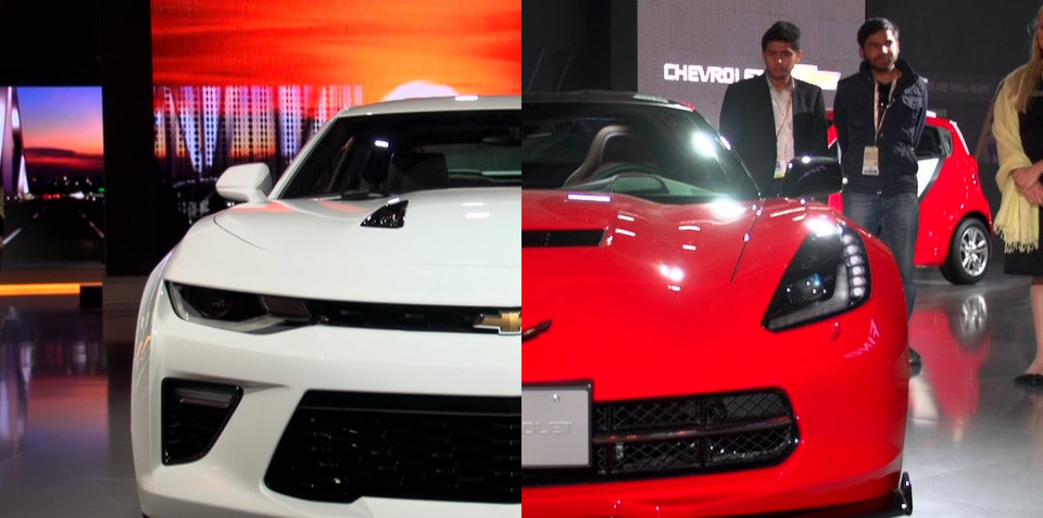 Camaro or Corvette to take on Mustang locally?: Chevrolet exec tight-lipped on Holden's new V8 sports car