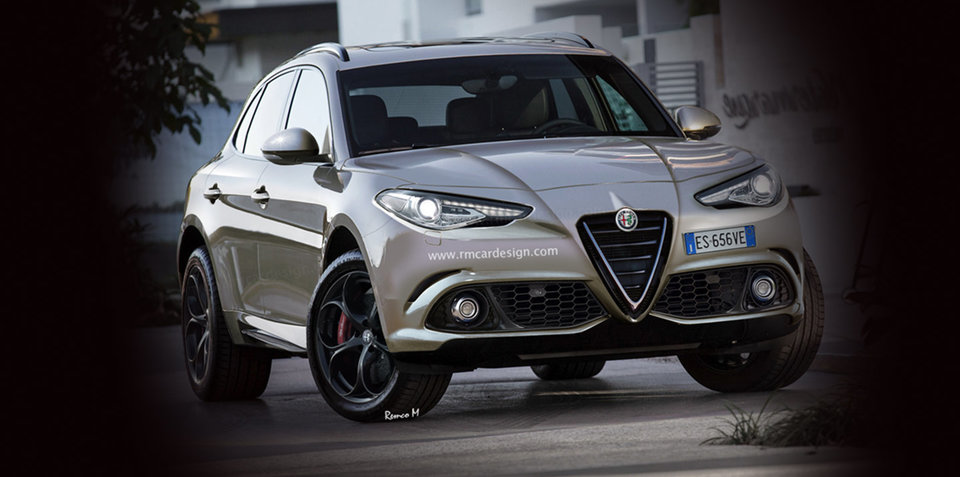 alfa romeo stelvio name confirmed for new suv giulia production starts march. Black Bedroom Furniture Sets. Home Design Ideas