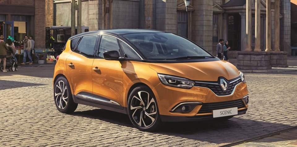 2017 Renault Scenic leaked in advance of Geneva unveiling