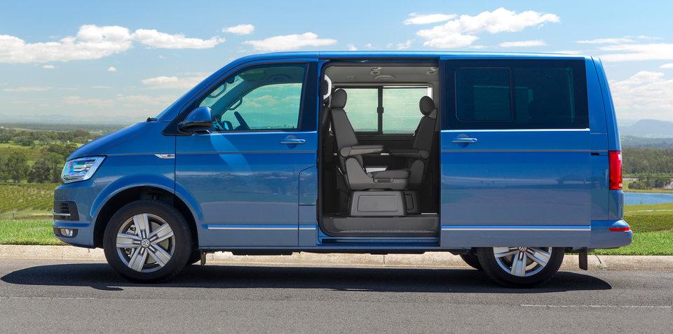2017 volkswagen multivan pricing and specs standard electric doors pricing increase. Black Bedroom Furniture Sets. Home Design Ideas