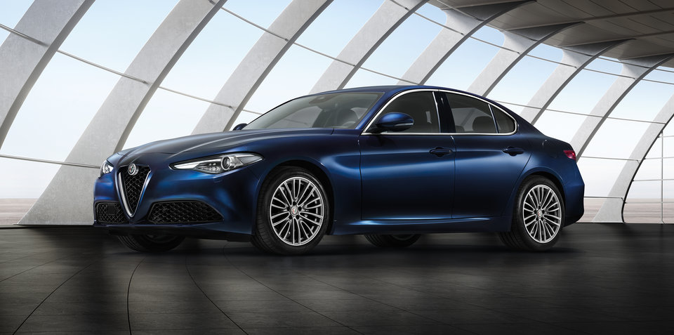 Alfa Romeo Giulia range revealed in Geneva