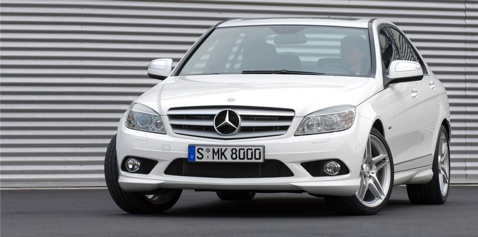 2006 2008 mercedes benz c class recalled over parts corrosion for Mercedes benz of atlanta parts
