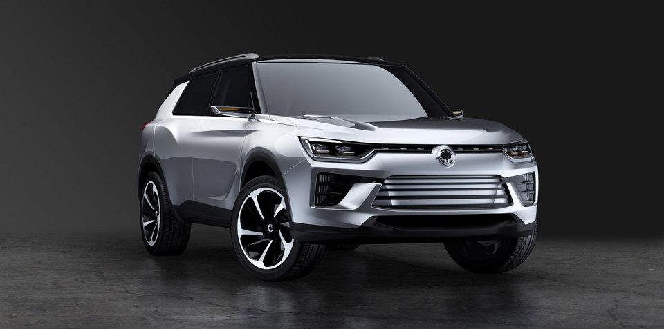 Ssangyong SIV-2 concept debuts at Geneva motor show