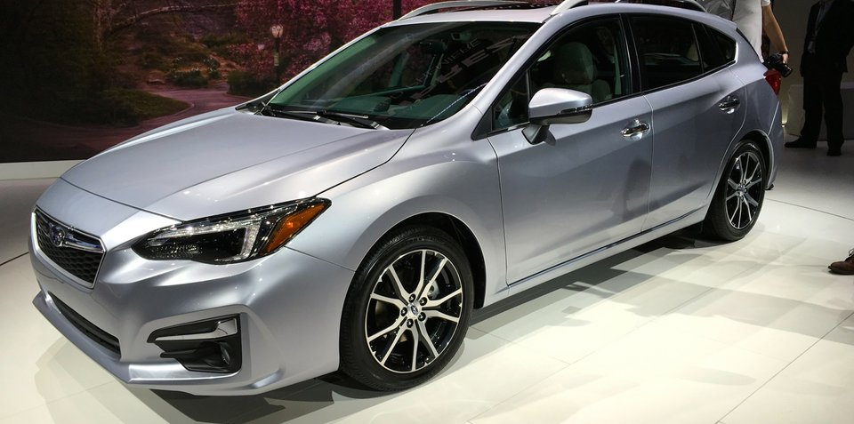 2017 Subaru Impreza sedan and hatch debut at New York auto show - UPDATE