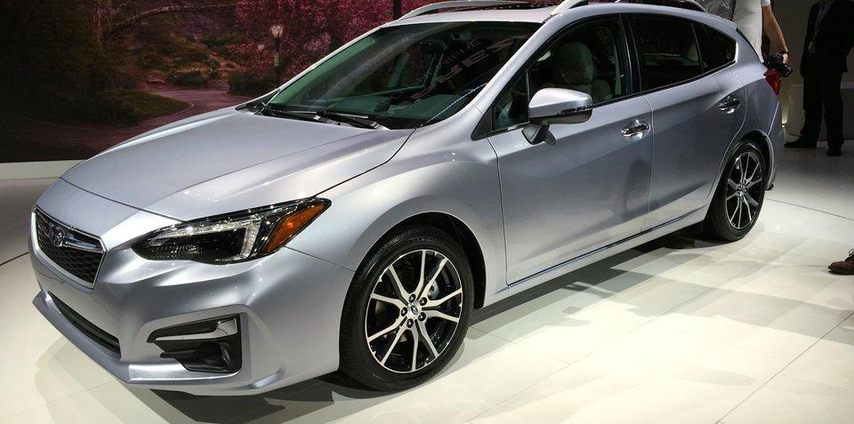 2017 Subaru Impreza sedan and hatch debut at New York auto show - UPDATE