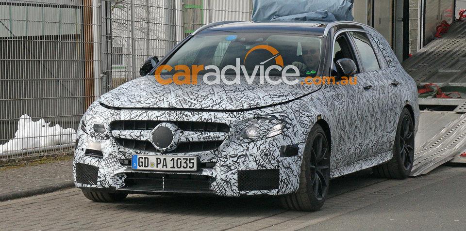 Mercedes-AMG E63 wagon spied testing