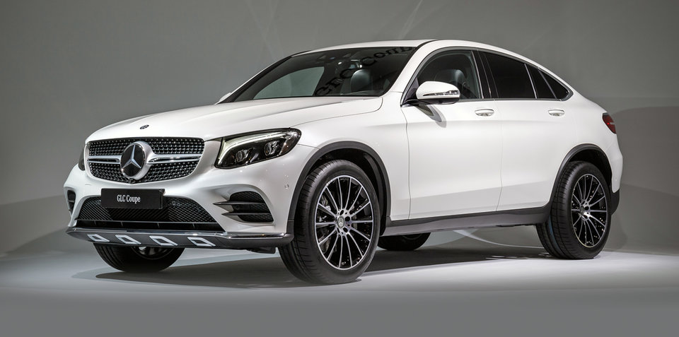 2017 Mercedes-Benz GLC Coupe, AMG GLC43 Coupe revealed: Australian launch due in December