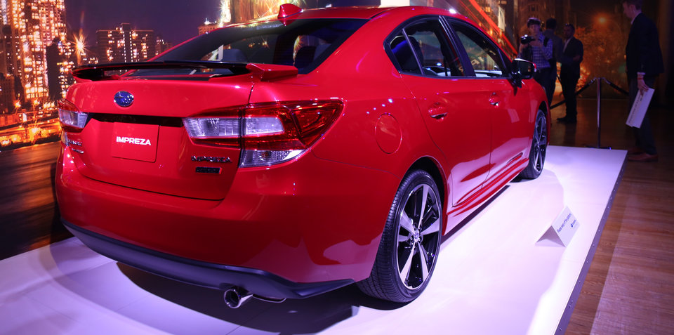 2017 Subaru Impreza hatch and sedan gallery