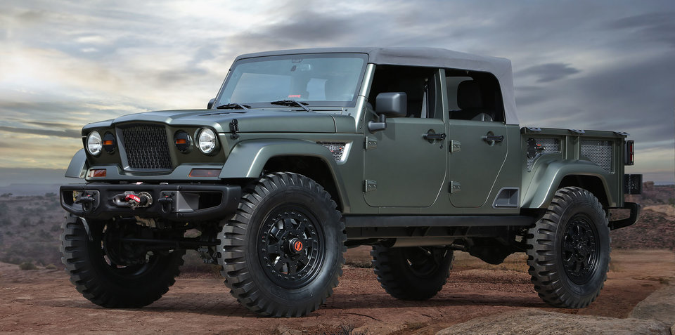 Jeep Wrangler ute details due imminently