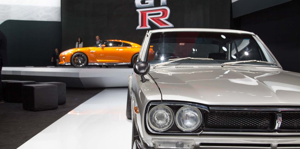 Nissan GT-R and Skyline GT-R: Six generations on display in New York