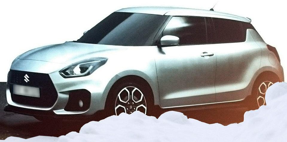2017 Suzuki Swift images leaked online