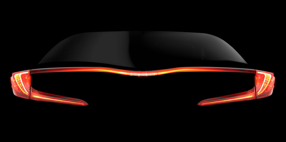 New Toyota Prius concept or variant teased ahead of New York reveal