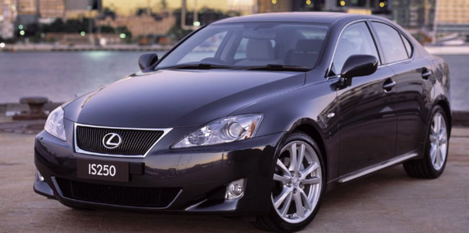 Lexus IS250, GS300 recalled for fuel pressure sensor fix