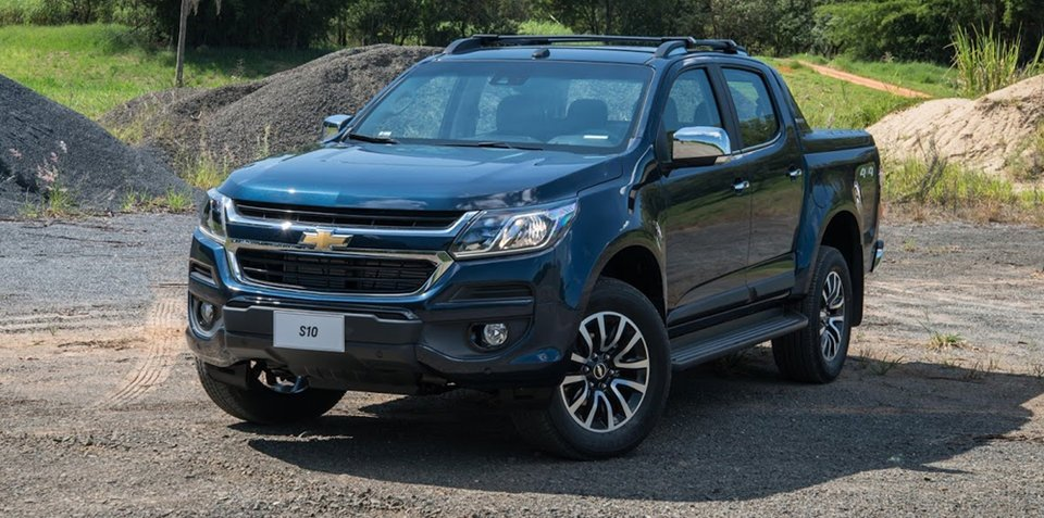 2017 Holden Colorado revealed in Brazil, Australian input significant