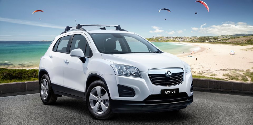 2016 Holden Trax Active arrives at $23,990 drive-away