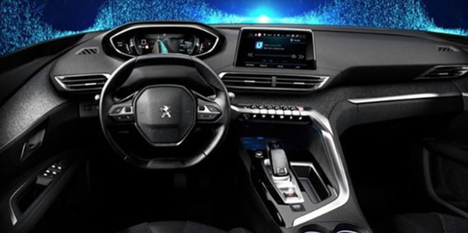 New Peugeot i-Cockpit infotainment system surfaces online