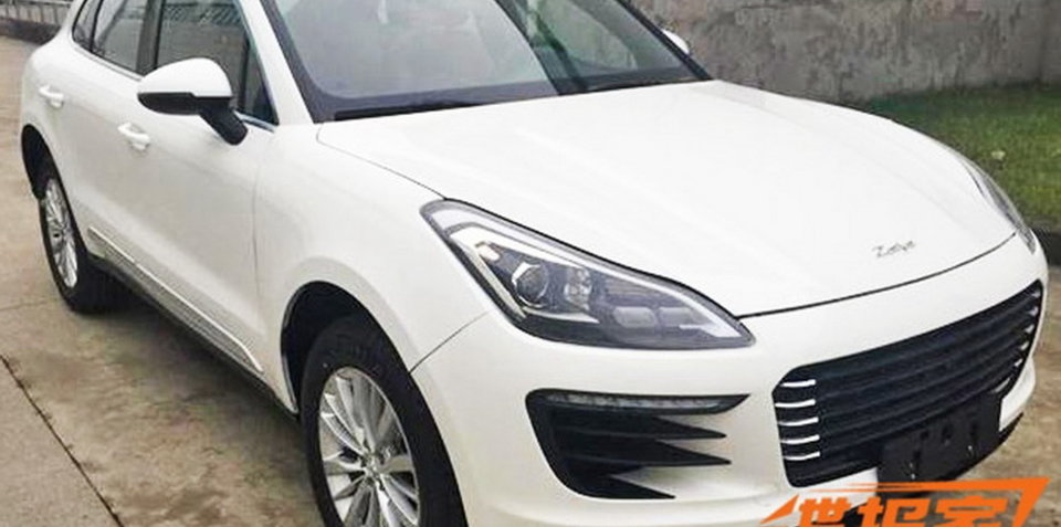 China's Zotye rolling out Porsche Macan knockoff