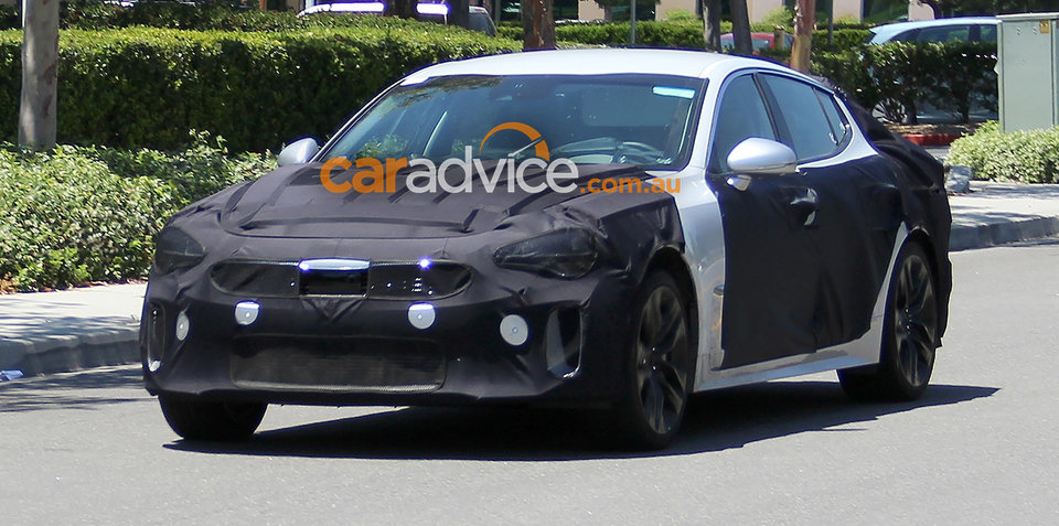 Kia GT sports sedan expected on sale in Australia by late 2017