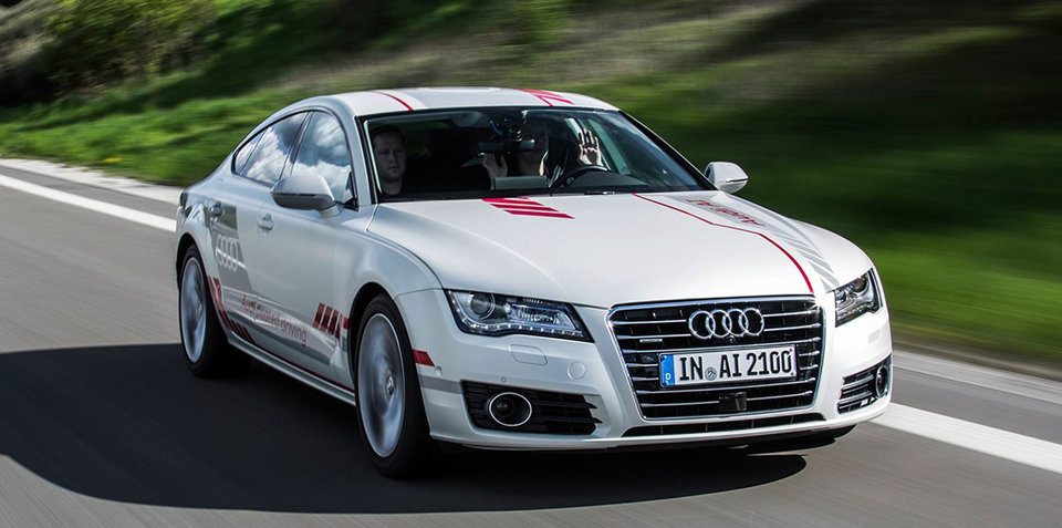 Audi's self-driving cars learn extra road manners