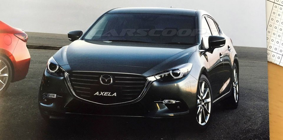 2017 Mazda 3 facelift: leaked Japanese brochure surfaces online