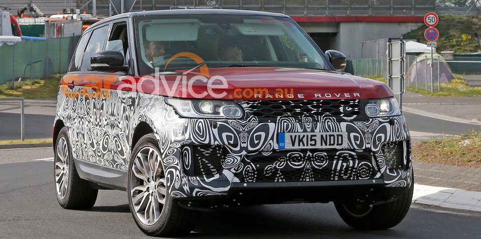 2017 Range Rover Sport facelift spied inside and out