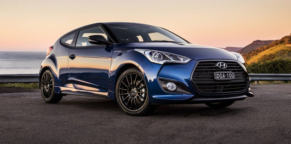 2016 Hyundai Veloster Street Turbo: new special on sale in Australia
