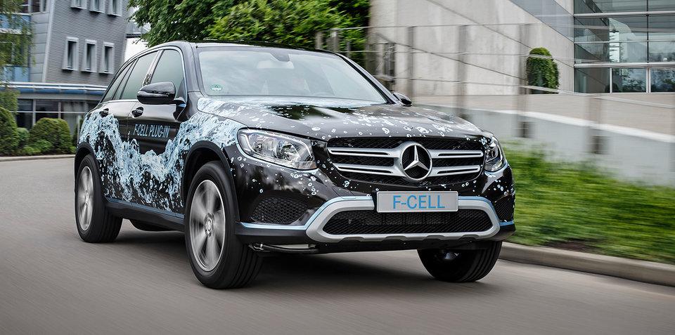 2017 Mercedes-Benz GLC F-Cell concept:: hydrogen SUV due next year