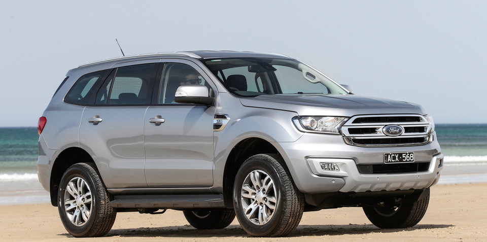 2017 Ford Everest getting Sync 3, ISOFIX