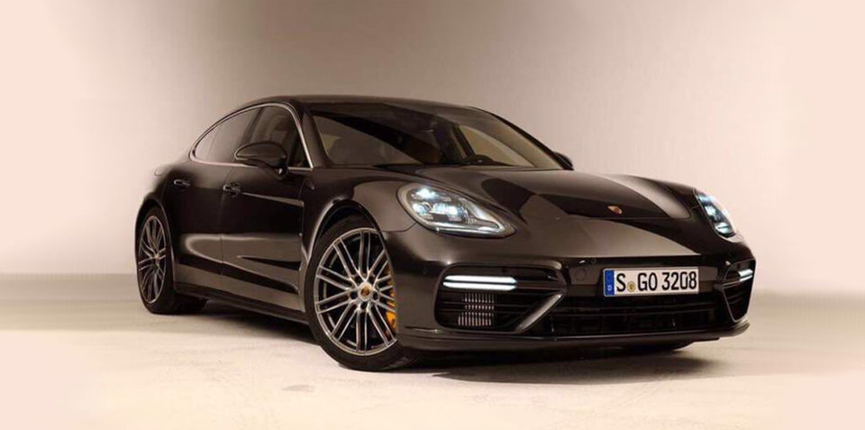 2017 Porsche Panamera Turbo leaked ahead of debut next week