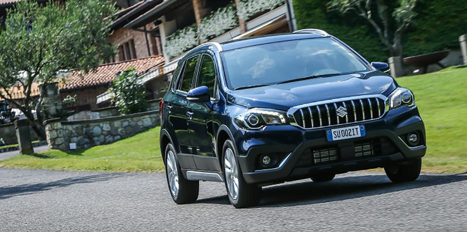 2017 Suzuki S-Cross facelift revealed ahead of Paris debut