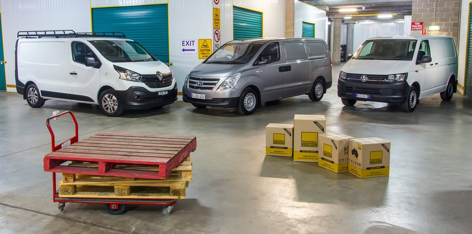 Medium van sales are booming right now