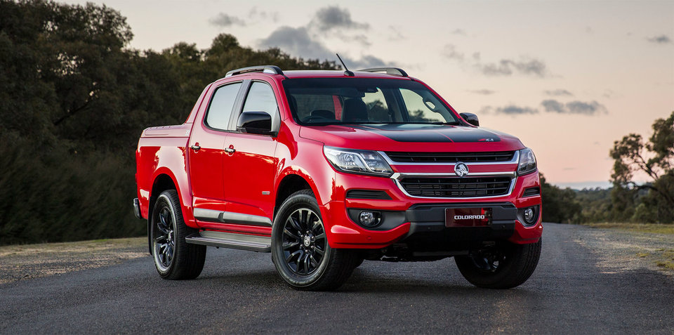 2017 Holden Colorado facelift revealed, on sale September 1