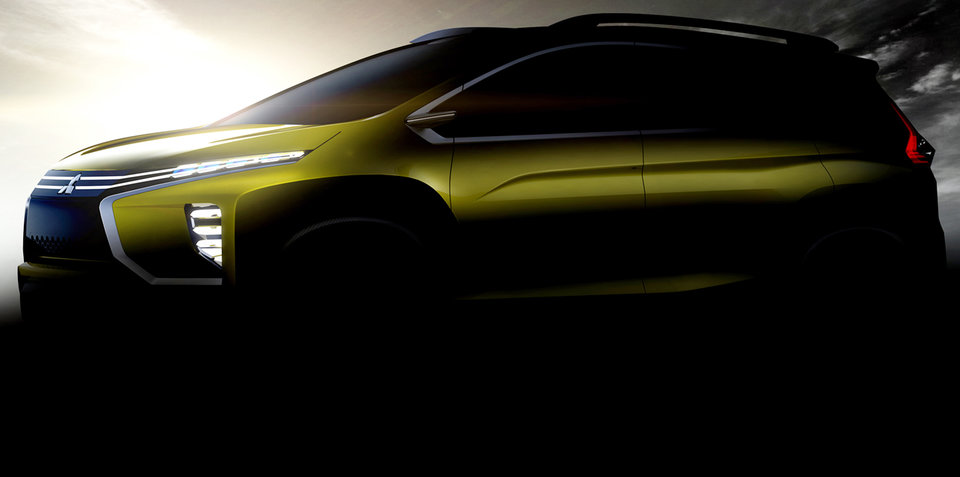 Mitsubishi teases 'crossover MPV' concept ahead of August debut