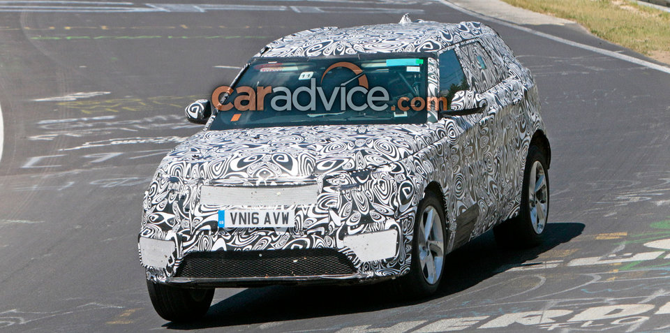 2018 Range Rover Sport Coupe spied