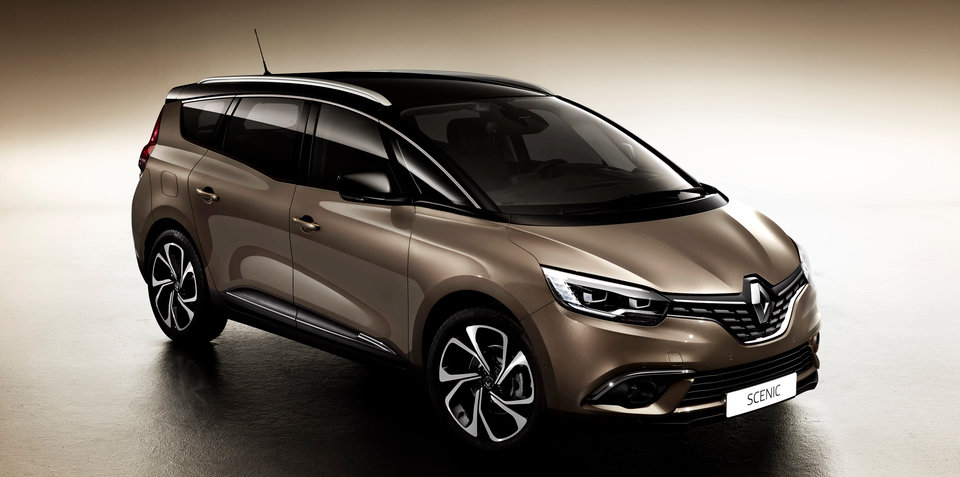 Renault Grand Scenic MPV still firmly on Australian radar